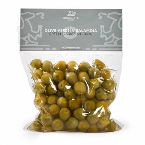 Olive Verdi in salamoia Nocellara del Belice