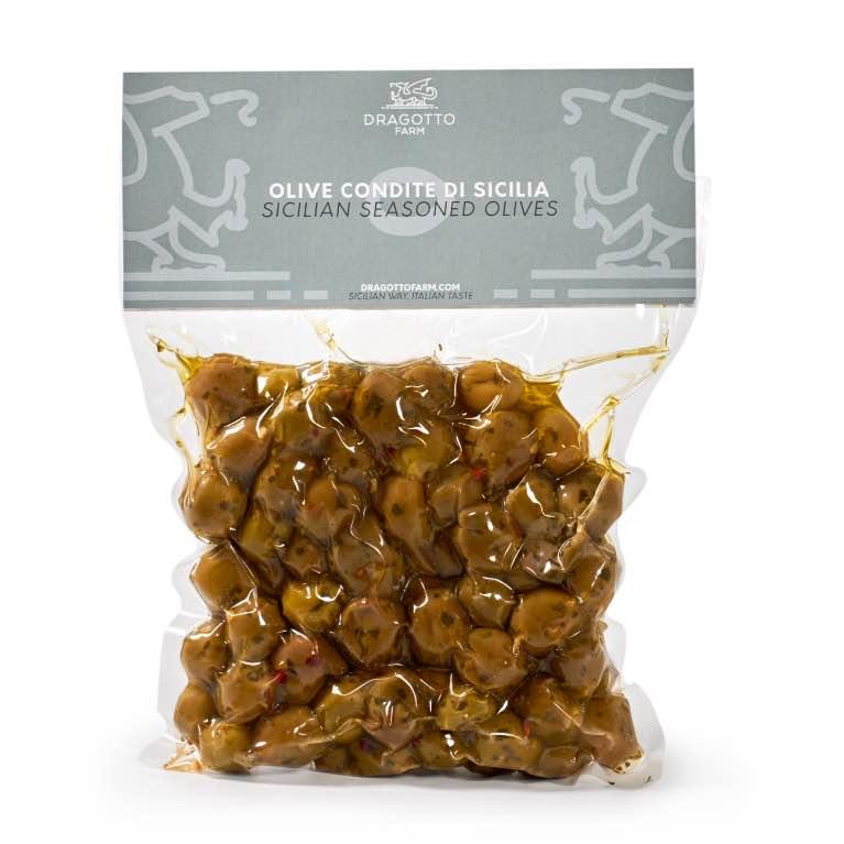 Olive condite di Sicilia